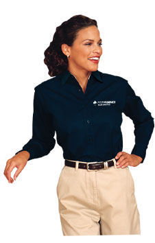 Corporate Apparel model for Crittenden Creative, Inc. (CCI) San Diego